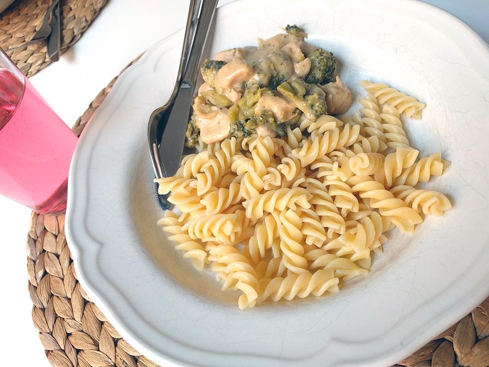 pasta med kyckling