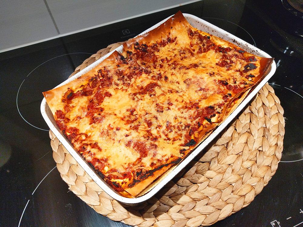 recept på lasagne med färska lasagneplattor