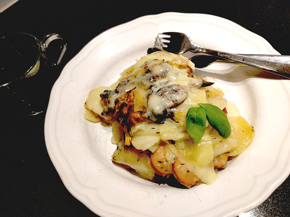 gott till potatisgratäng