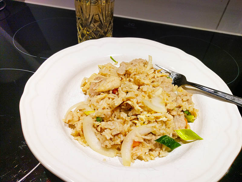 Fried Rice Chicken vvdb.se